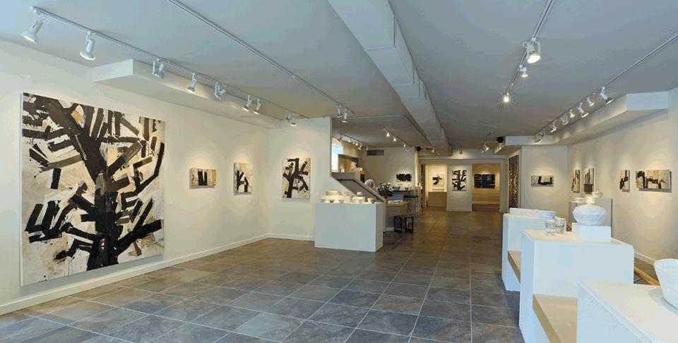 Darwin's Trees exhibit at Turman/Larison Contemporary, Helena, MT 2015