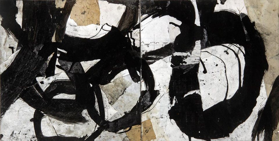 Causation 4, painting by Jerry Iverson