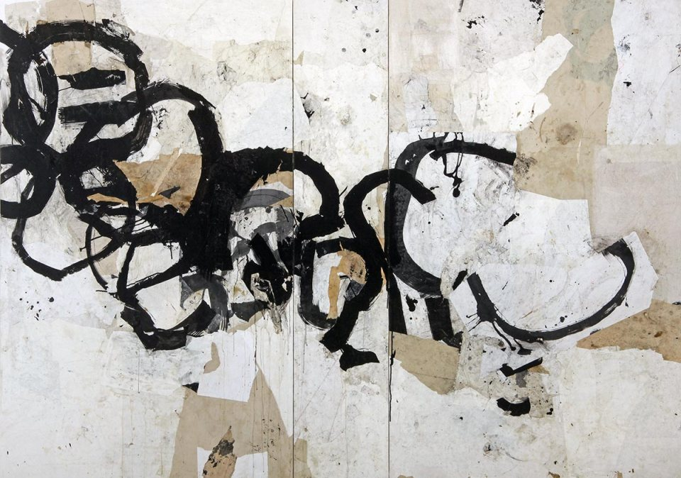 Causation 13, painting by Jerry Iverson