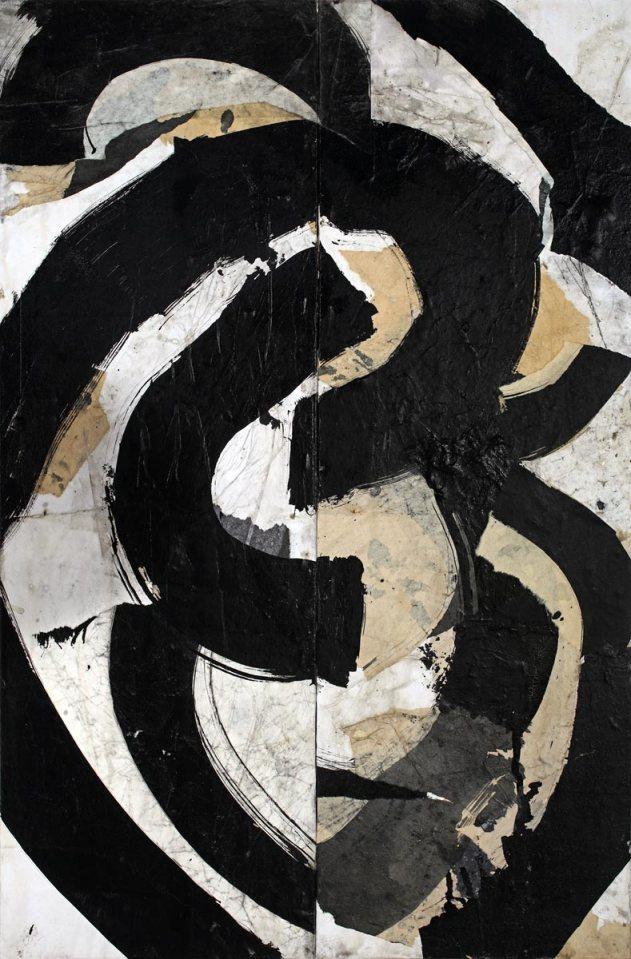 Causation 29, painting by Jerry Iverson