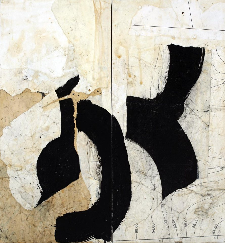 Causation 36, painting by Jerry Iverson
