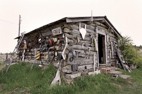 Jerry Iverson's log babin studio