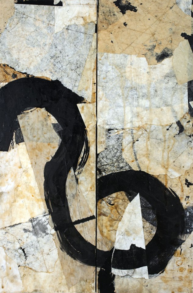 Causation 37, painting by Jerry Iverson